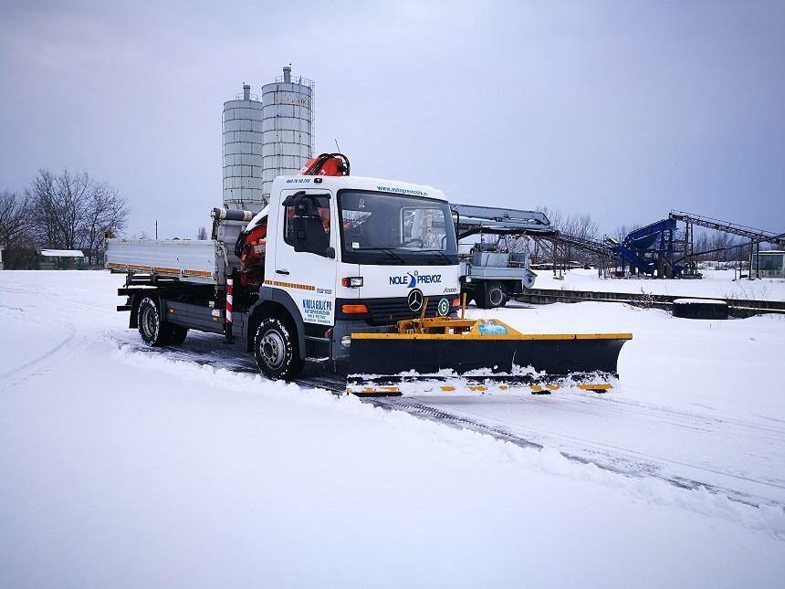 Čišćenje snega Beograd