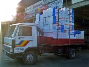 stiropor kamionski prevoz